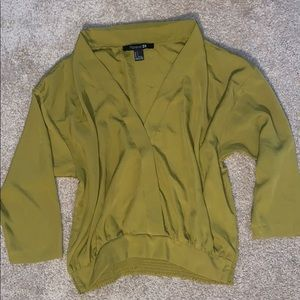 Olive F21 Top
